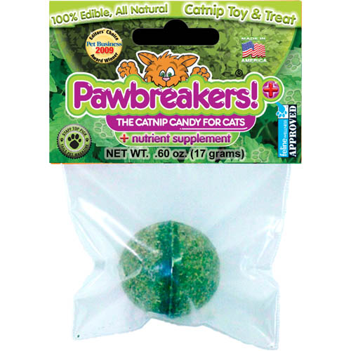 Pawbreakers Plus! The Catnip Candy for Cats